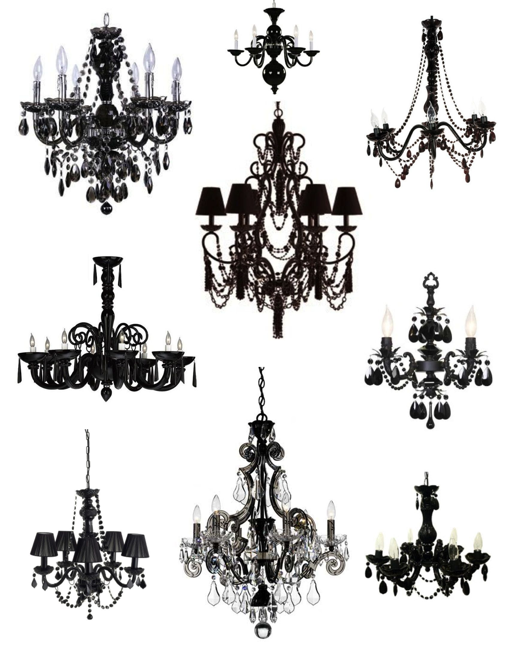 Unexpected drama the elegance sophistication of the black unexpected drama the elegance sophistication of the black chandelier arubaitofo Gallery