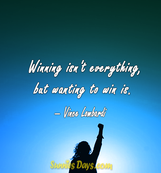 Winning Isn T Everything But Wanting To Win Is Vince Lombardi Vincelombardiquotes Successquotes Qu Vince Lombardi Quotes Success Quotes Best Quotes