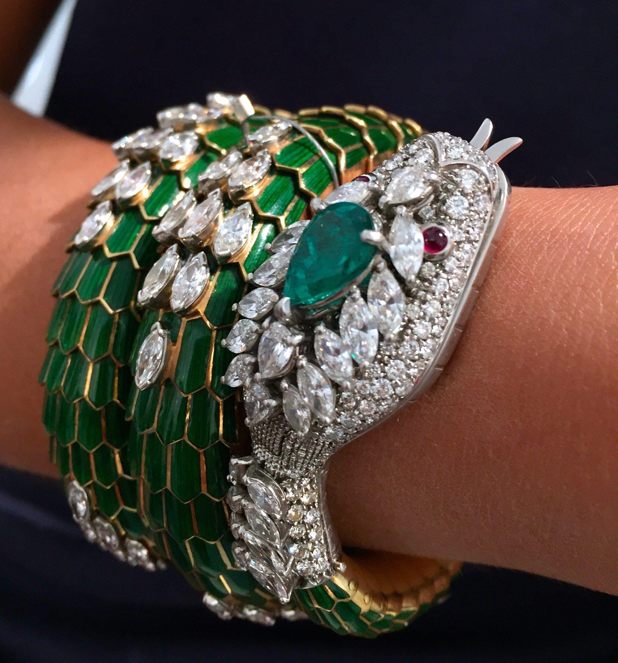 Sothebyus dubai bulgari esprit joaillerie bracelets and bangles