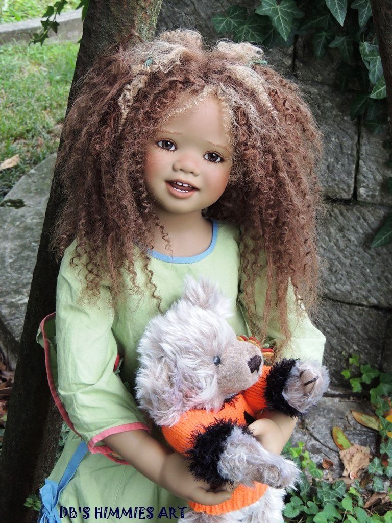 Pin By Deb V On Annette Himstedt Dolls Beautiful Dolls