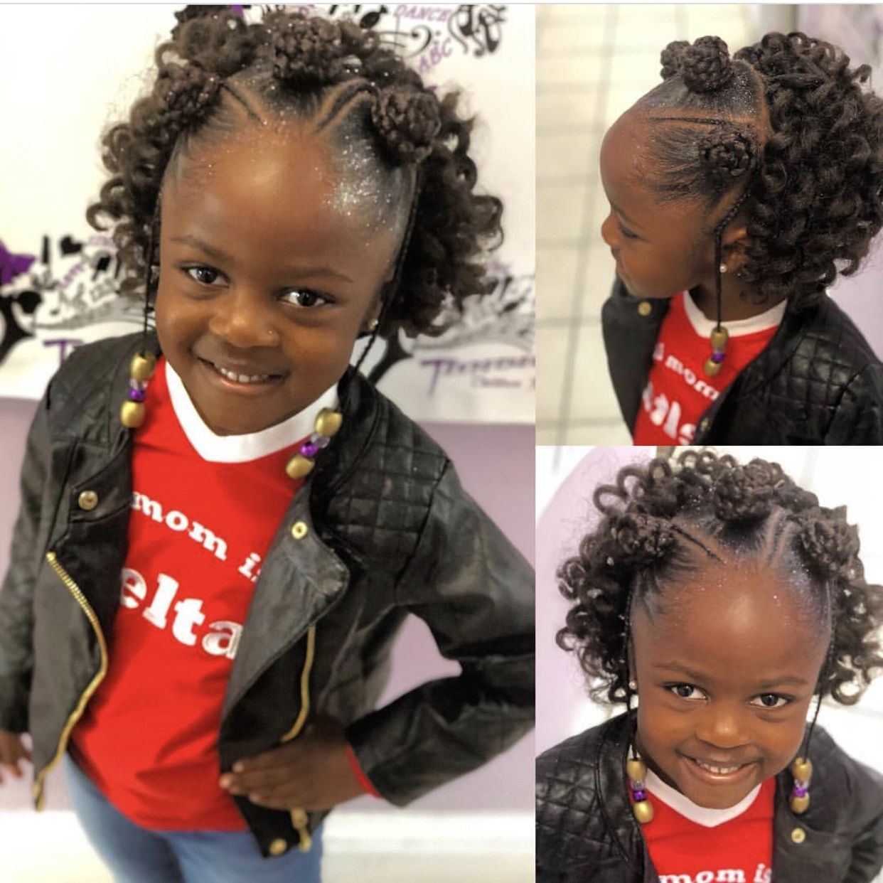 Christmas Hairstyles For Black Girls.Christmas Natural Hairstyles For Kids Holiday Hair Shop Www