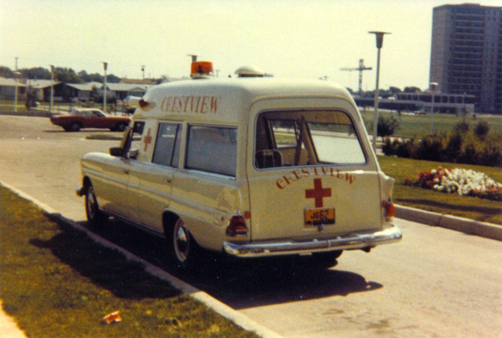1969 Mercedes Ambulance Vintage Mercedes Ambulance Crestview ...