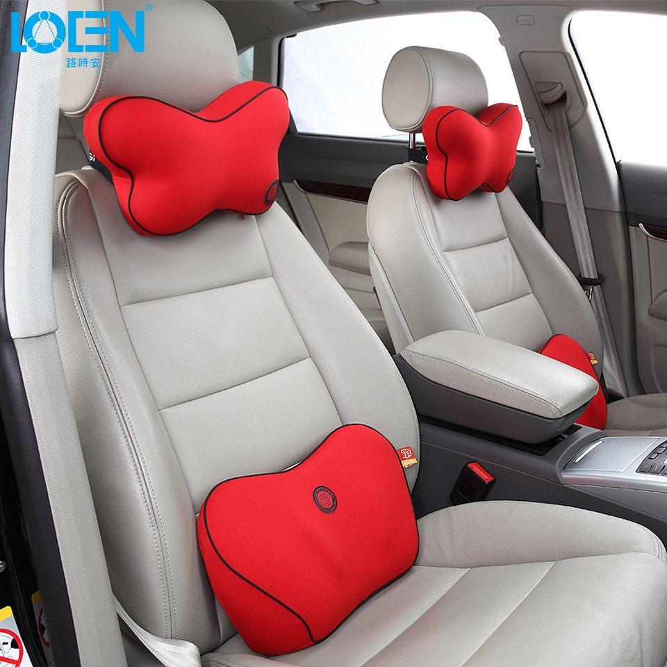 Groovy Butterfly Memory Foam Car Seat Neck Support Headrest Lumbar Inzonedesignstudio Interior Chair Design Inzonedesignstudiocom