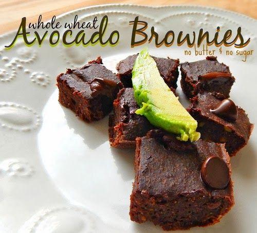 SENHORITA MI: Brownie Chocolate Light (Com Abacate e sem cara feia) Por Tara Mcnitt