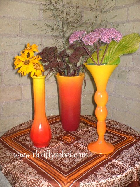 How To Spray Paint Vases With An Ombre Effect Paint Job