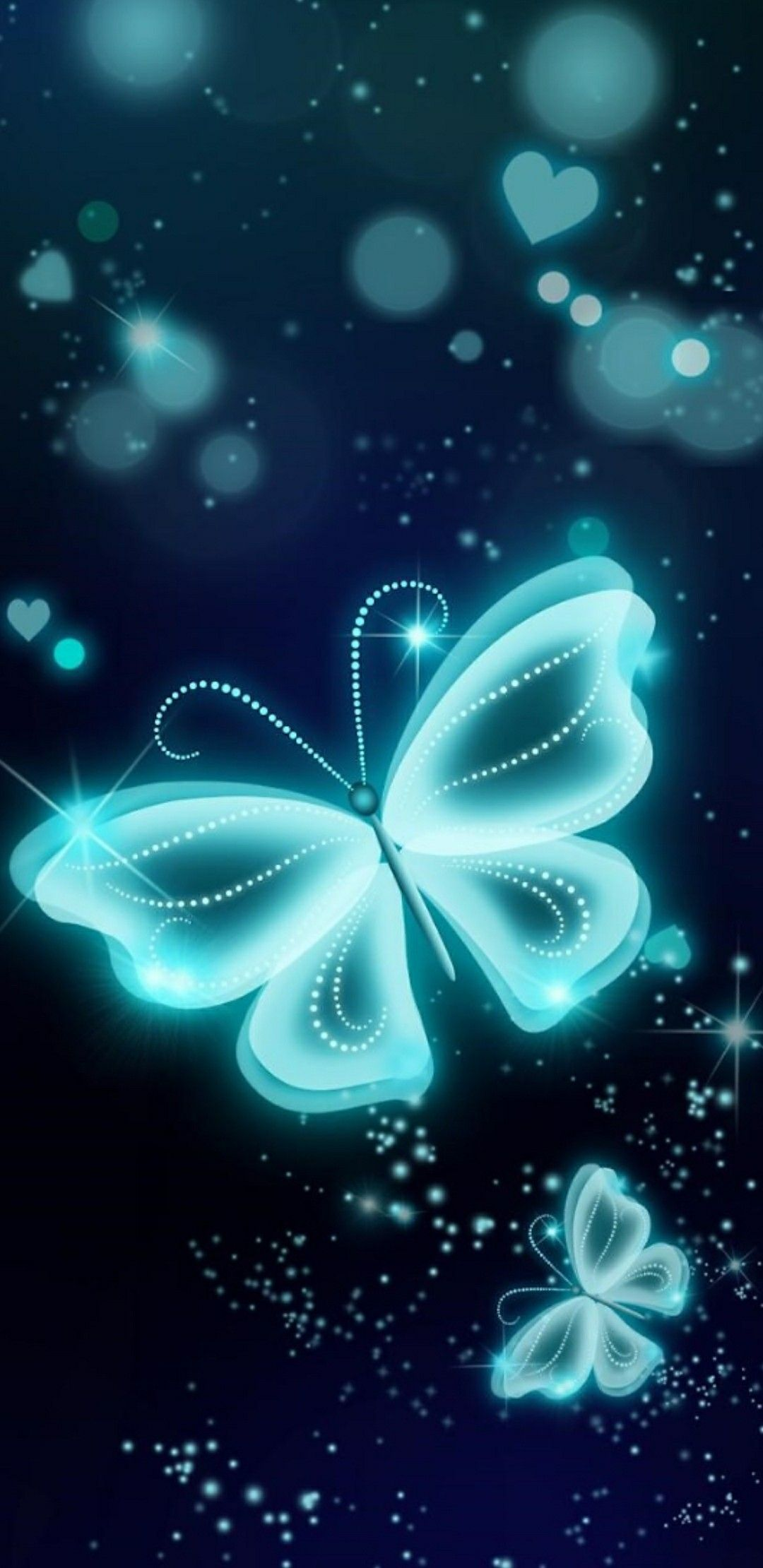 Pin By Nicole Budka On Glow Neon Backgrounds Butterfly Wallpaper Black Wallpaper Iphone Backgrounds Phone Wallpapers