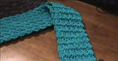 There's Nothing Tricky About This Riddle Stitch Scarf!