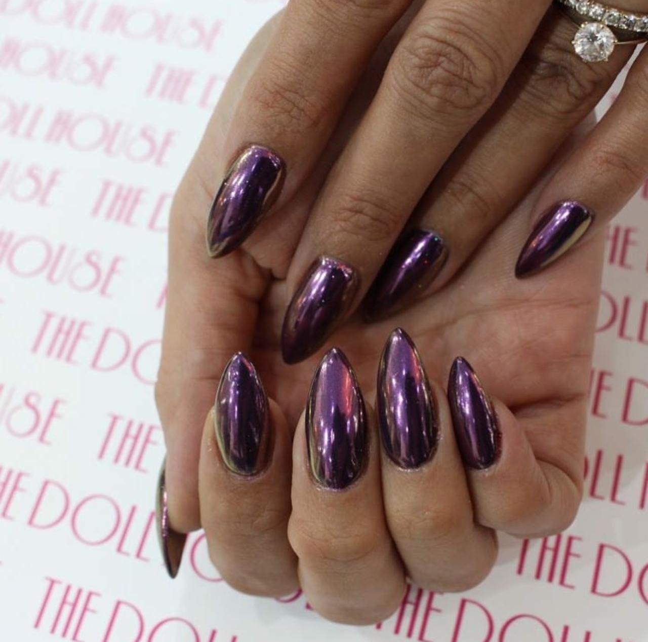 PURPLE CHROME - Nails, Nails, Nails✌ | Nail Ideas | Pinterest