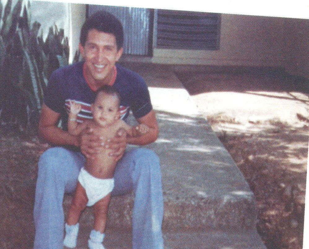 Hugo Chavez with his daughter Rosa ...