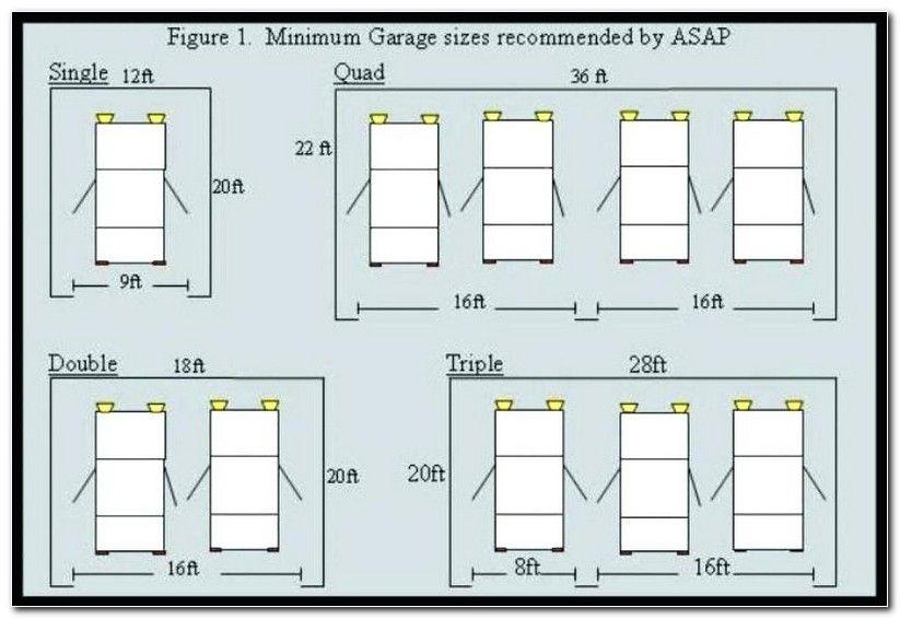 Garage Door Size Guide Garage Door Sizes Garage Dimensions Garage Doors