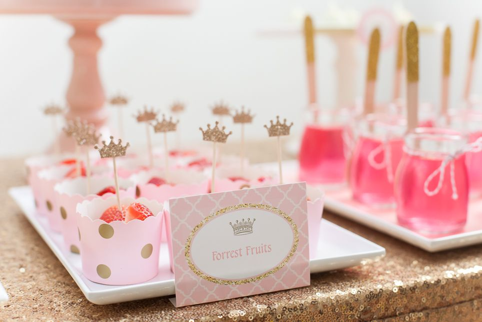 Pink and gold princess party for my daughter using vendors from