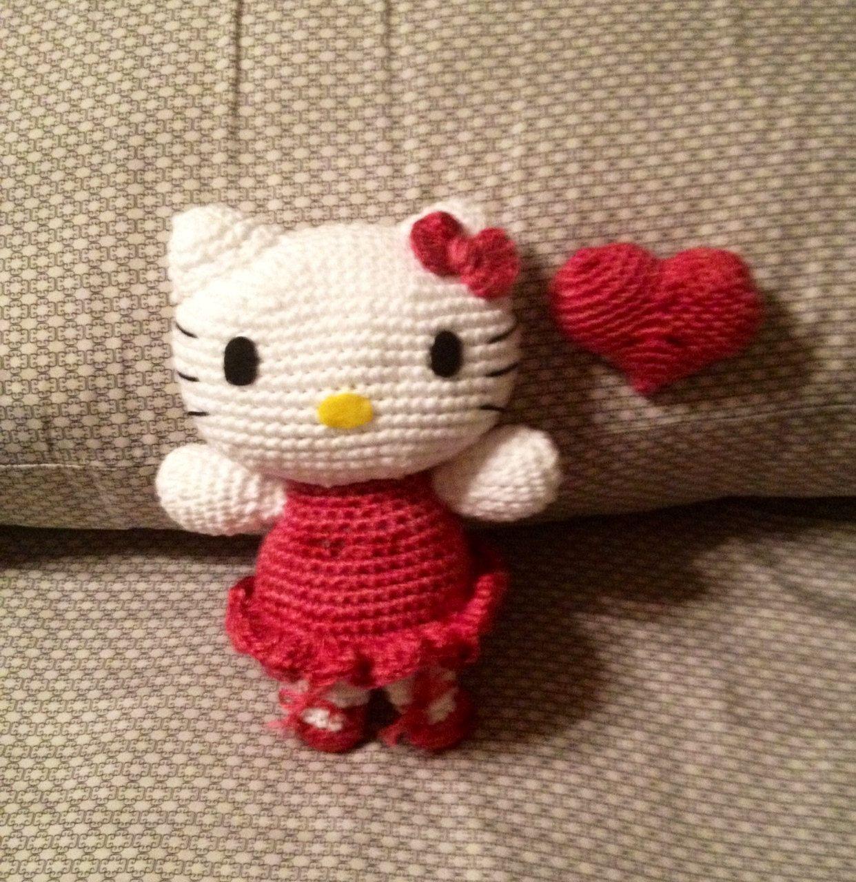 Hello Kitty Doll Crochet.   Crochet - misc.   Pinterest