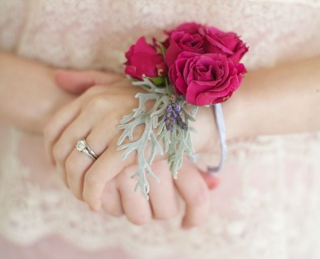 Floral Bracelets Wrist Corsages Are A Cheap Chic Alternative To Bouquets For Bridesmaids Or
