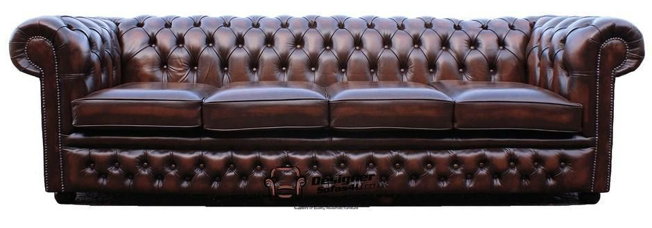Super Details About Chesterfield Original Winchester 4 Seater Home Interior And Landscaping Dextoversignezvosmurscom