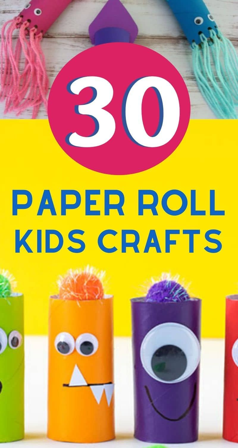 30 Insanely Adorable Toilet Paper Roll Crafts For Kids In 2020 Paper Roll Crafts Crafts For Kids Toilet Paper Roll Crafts