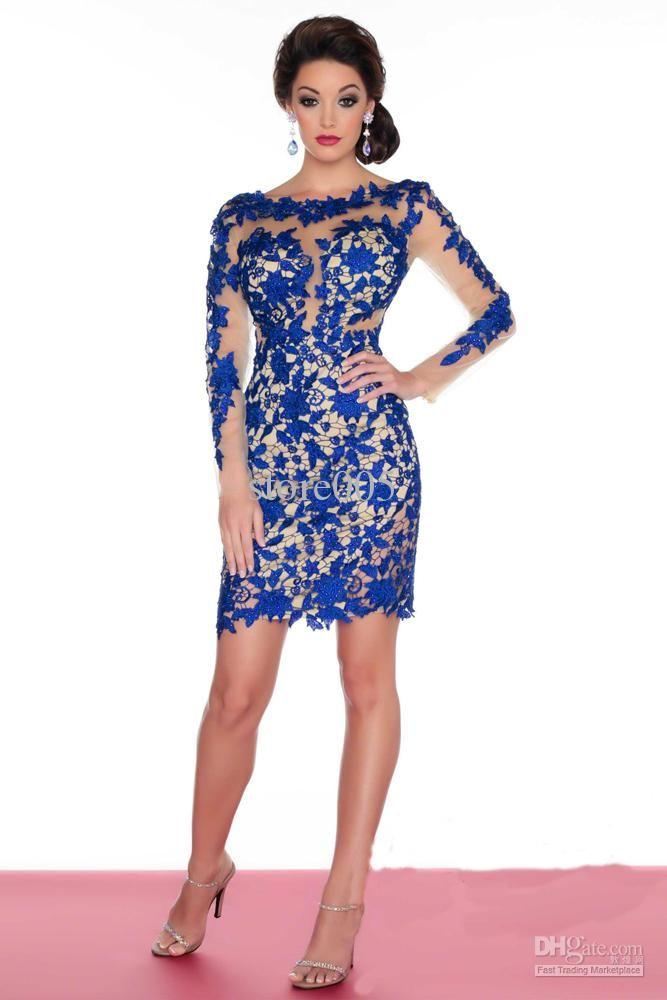 Royal blue lace dress size 18 | Color dress | Pinterest | Blue lace