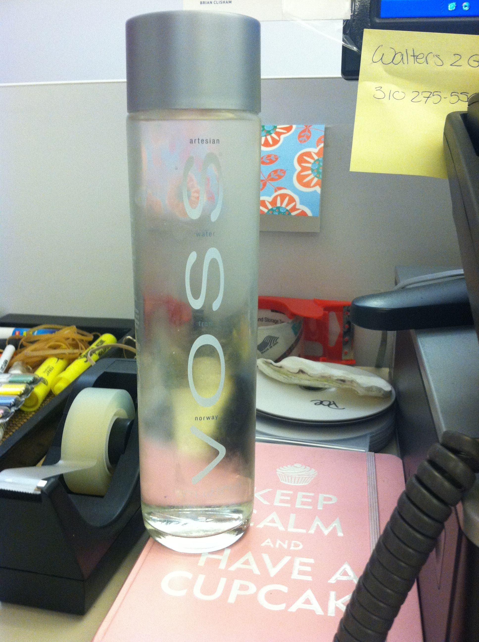 small pleasures pretentious water bottles voss is ßoss