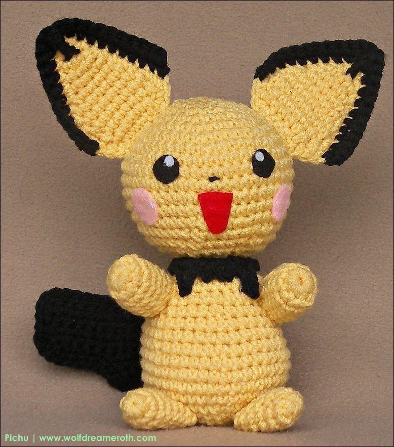 Pokémon Pichu | Patterns | Pinterest | Artesanía y Patrones