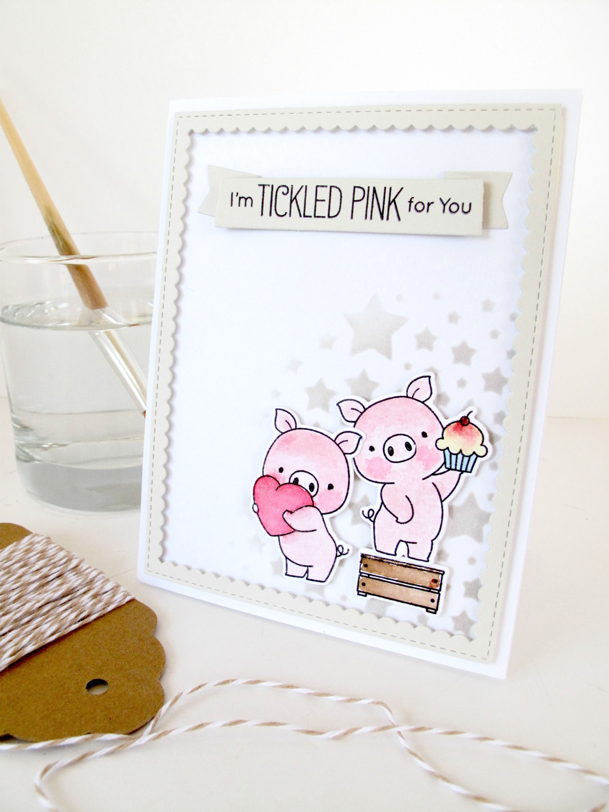 Hog heaven mft card by nicky noo cards and https great sentiment for little piggy cards kristyandbryce Images