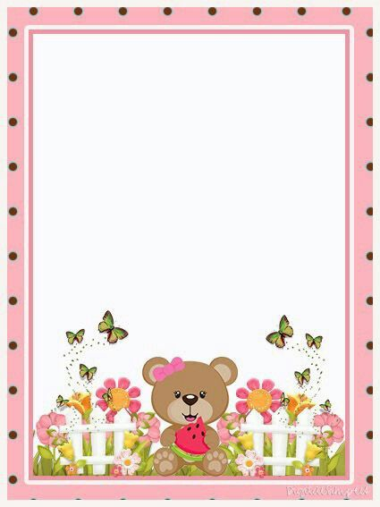 Folio Borders And Frames Free Printable Stationery Boarders And Frames