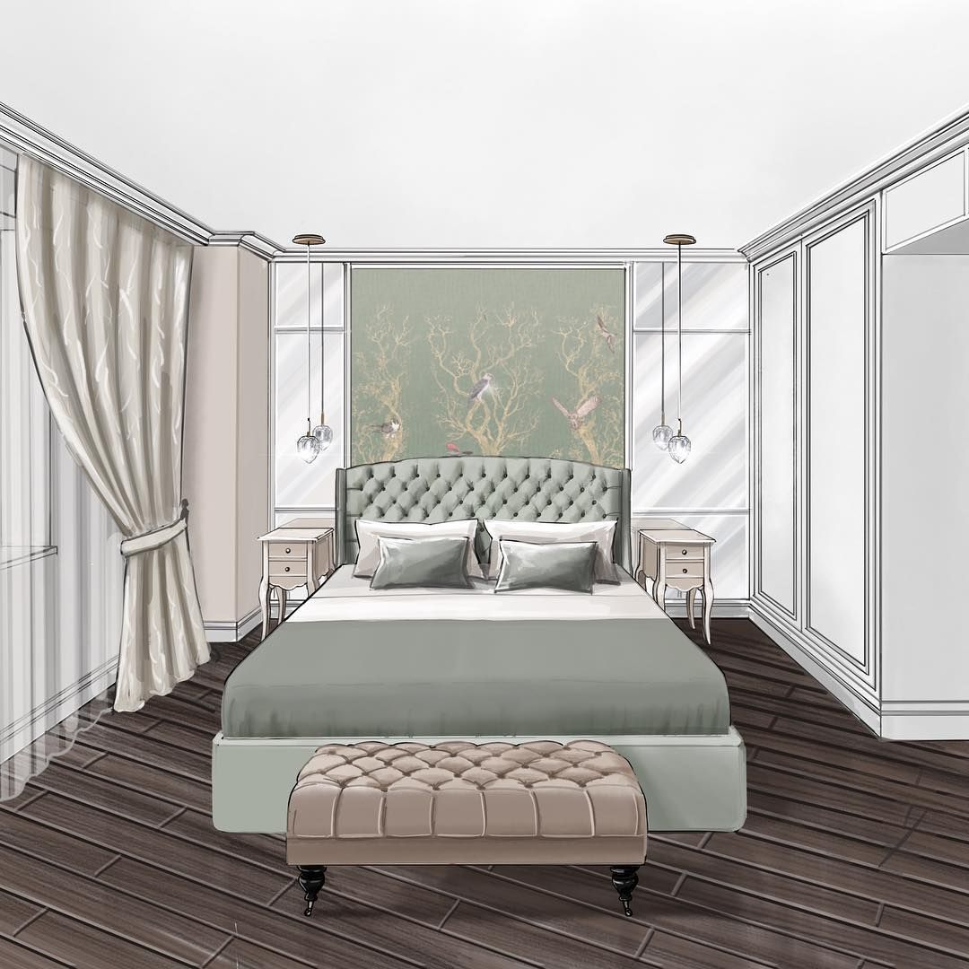 Pin By O Kondratovos Dizaino Studija On Hallway And: #ipadproart #digitalart #interiorsketch #interior_sketch