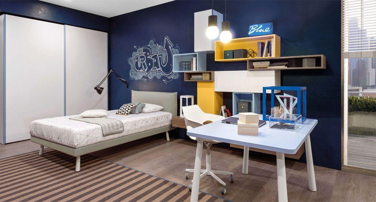 Camerette per bambini e ragazzi- Zalf   Zalf   Bedroom, Modern ...