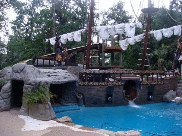 pirate ship pool southern