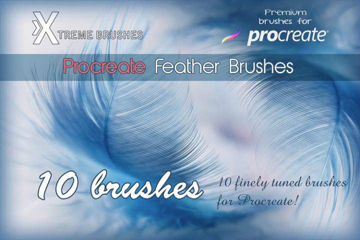 Procreate Feather Brushes | Procreate Brushes in 2019