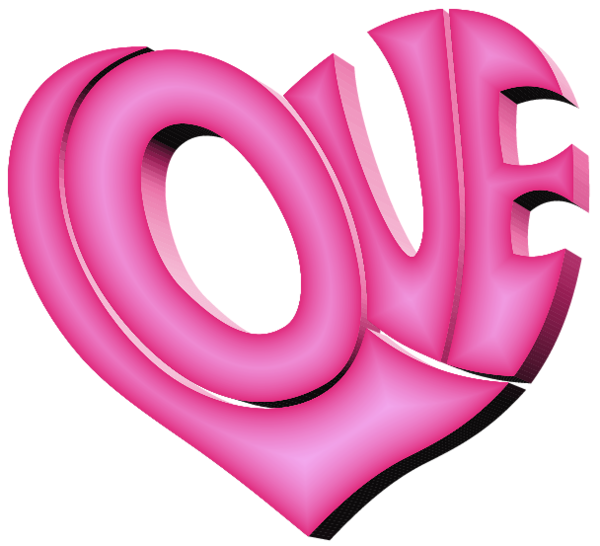 Pink Love Heart Png Picture Pink Love Clip Art Love Heart