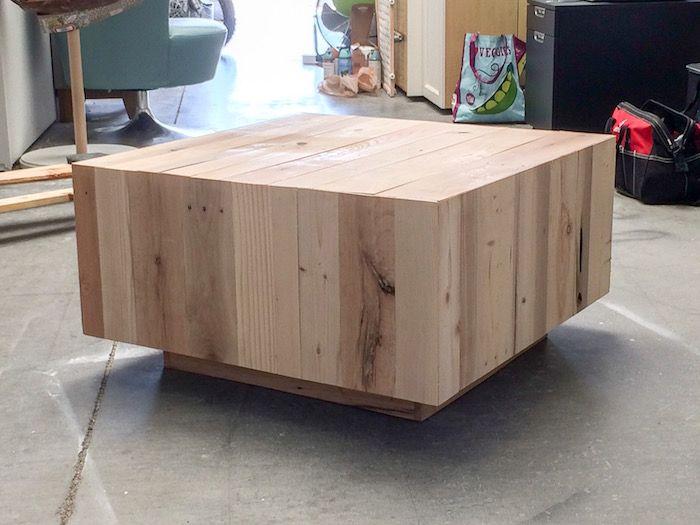 West Elm Inspired DIY Coffee Table CREATE Pinterest Diy Coffee - West elm plank coffee table