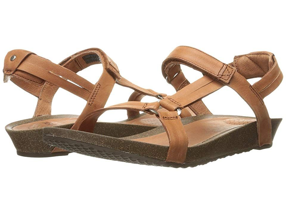 756a5ca8a1 Teva Ysidro Universal (Cognac) Women's Shoes. Posh up your weekend look  with the
