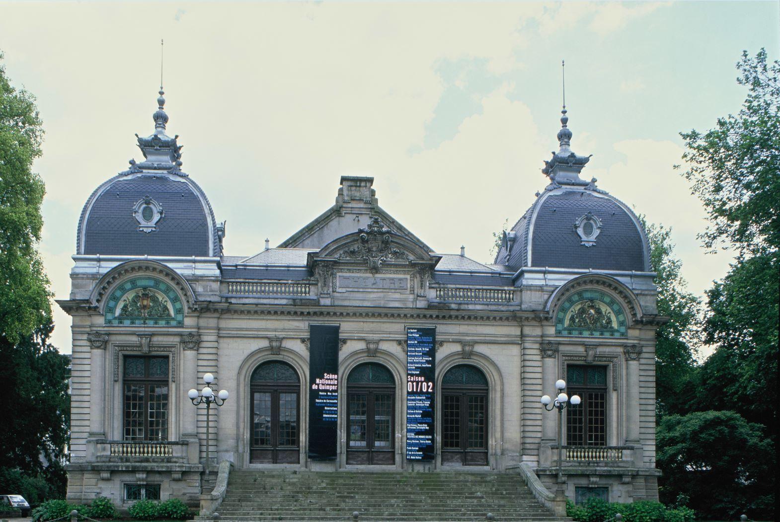 Public Building, Quimper (France) #zinc #architecture #france