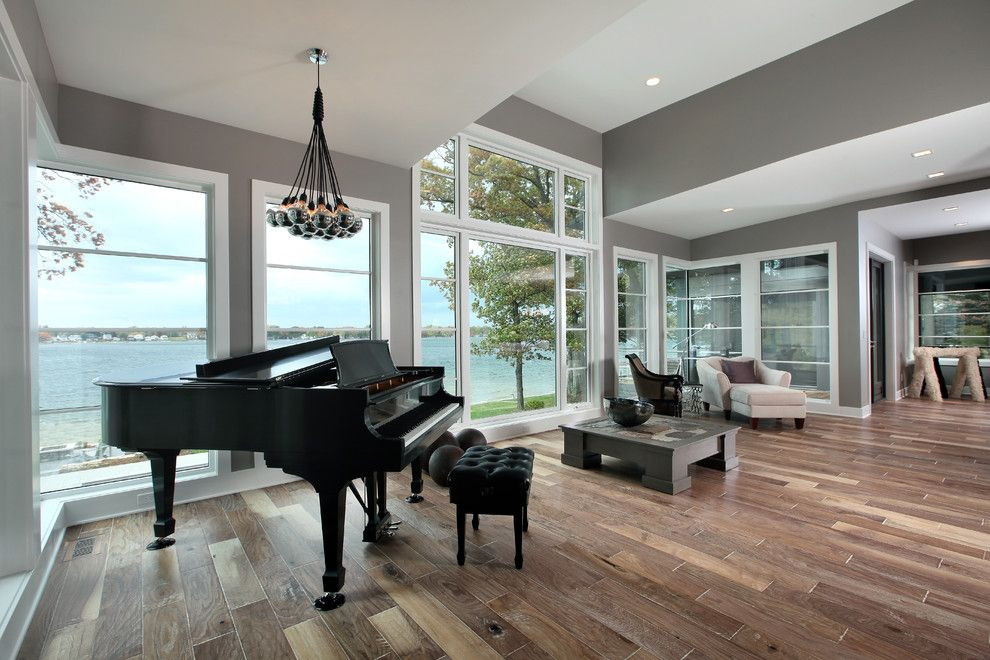 american living room piano - photo #4