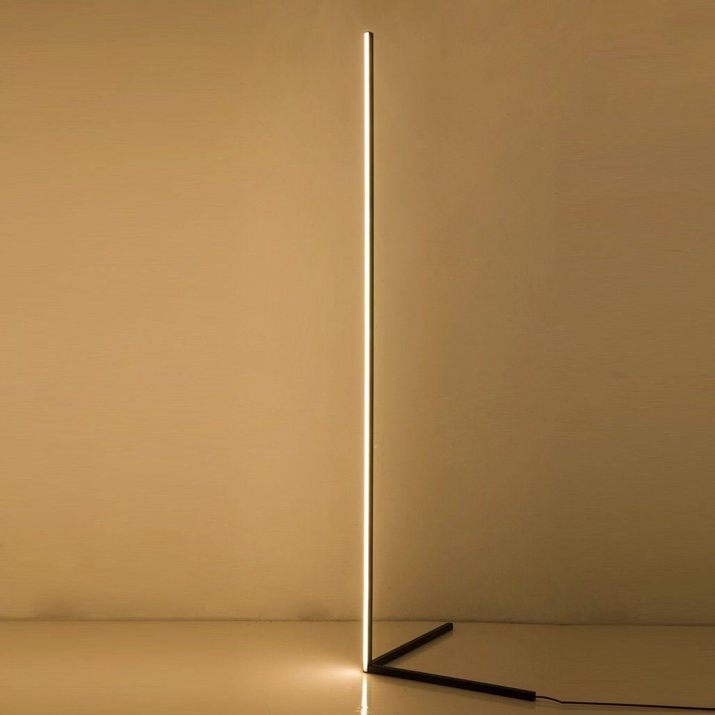 The Njord Light Minimalist Led Floor Lamp In 2021 Diy Floor Lamp Wood Lamp Design Corner Lamp