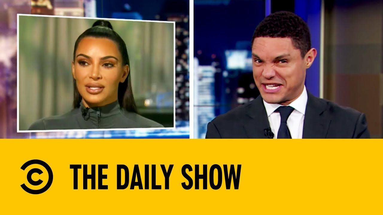 Kim Kardashian Attorney At Law The Daily Show With Trevor Noah