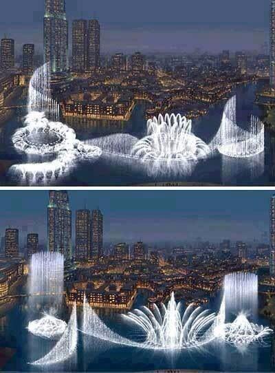 Waterfall Dubai