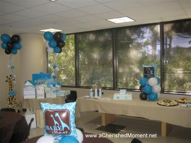 Centerpiece Table Baby Boy Outfits | Pacifier Chandeliers, Mini Column & Table Decor