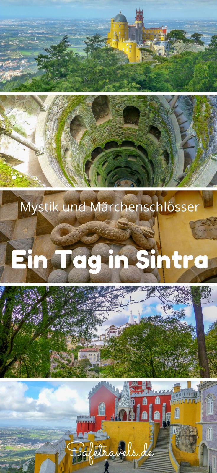 Mystik und Märchenschlösser - Ein Tag in Sintra #traveltoportugal