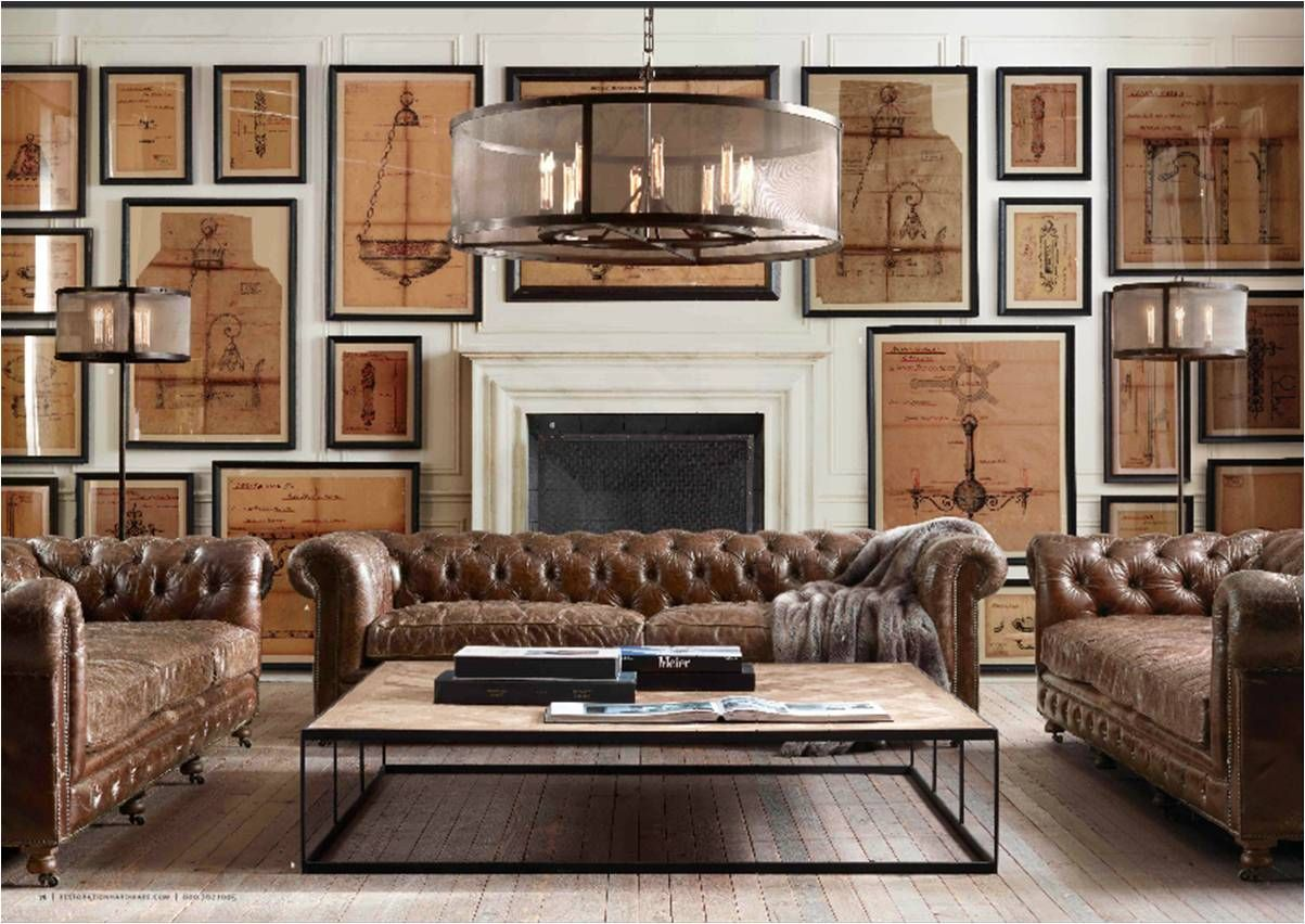 2012 Fall Catalog Restoration Hardware Trendy Living Rooms