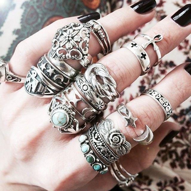 anillos muchos