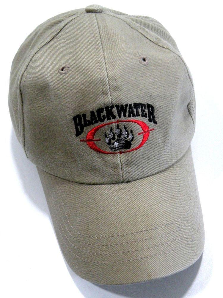 a40841e1e Authentic Blackwater Contractor Embroidered Baseball Cap Khaki PMC ...