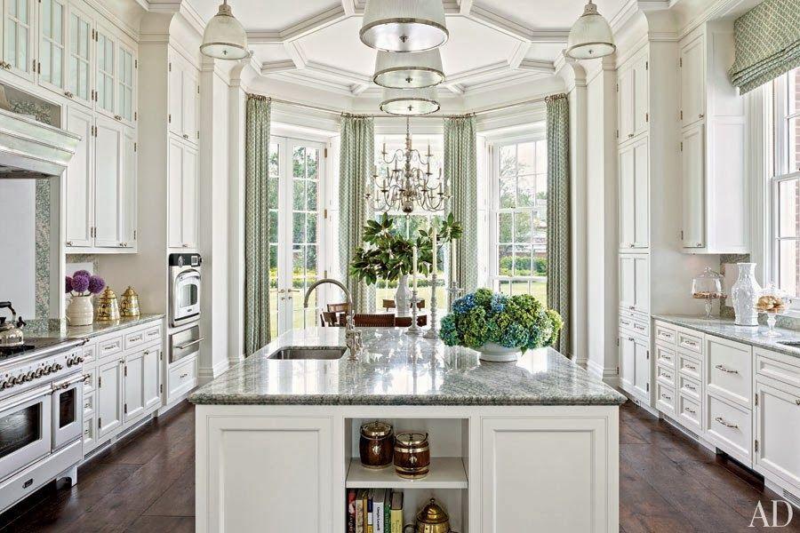Beautiful White Kitchen Designs Amusing Gorgeous White Kitchen Tremendous Trim And Millwork Large Center Design Inspiration