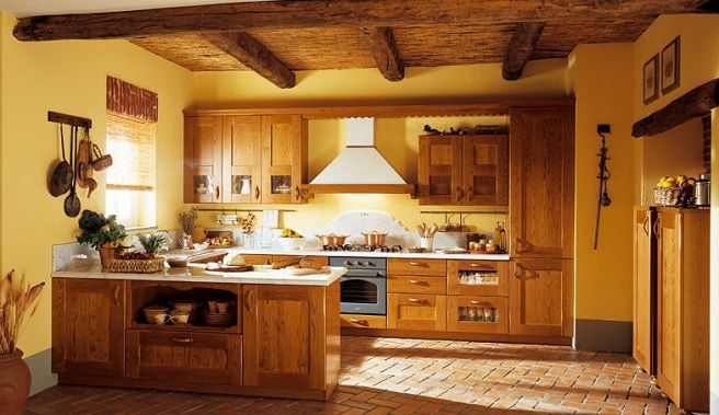 Modelos de cocinas fotos de decoraci n decorar cocinas - Decoracion rustica de interiores fotos ...