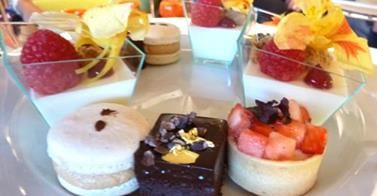 How sweet it is…Low Tea hand made by Pastry Chef Cainan Sabey.
