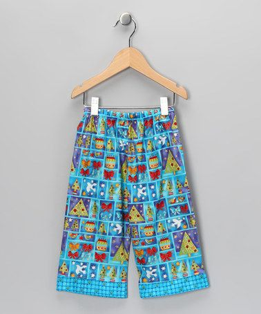 Take a look at this Blue Jolly Holiday Pants - Infant & Toddler by Carolina Kids on #zulily today!