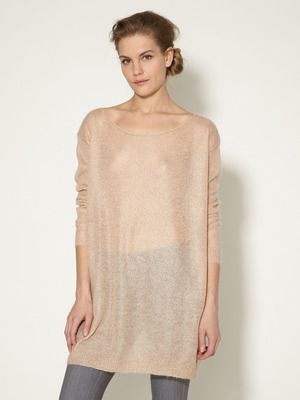 Marc by Marc Jacobs    Pandora Metallic Mohair Tunic