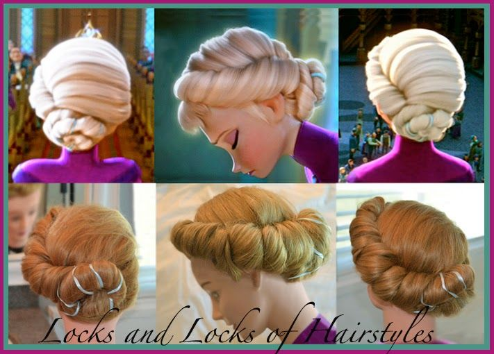 Pin By Carol Blair On My Winter Wedding D Elsa Hair Hair Styles Disney Hairstyles