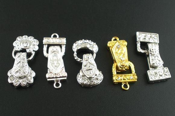 5pcs Antique Metal Magnetic Clasps DIY Jewellery Making Necklaces Bracelet