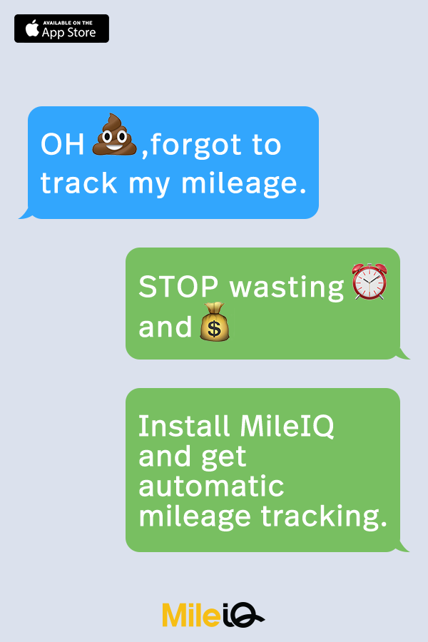 keeping track of mileage