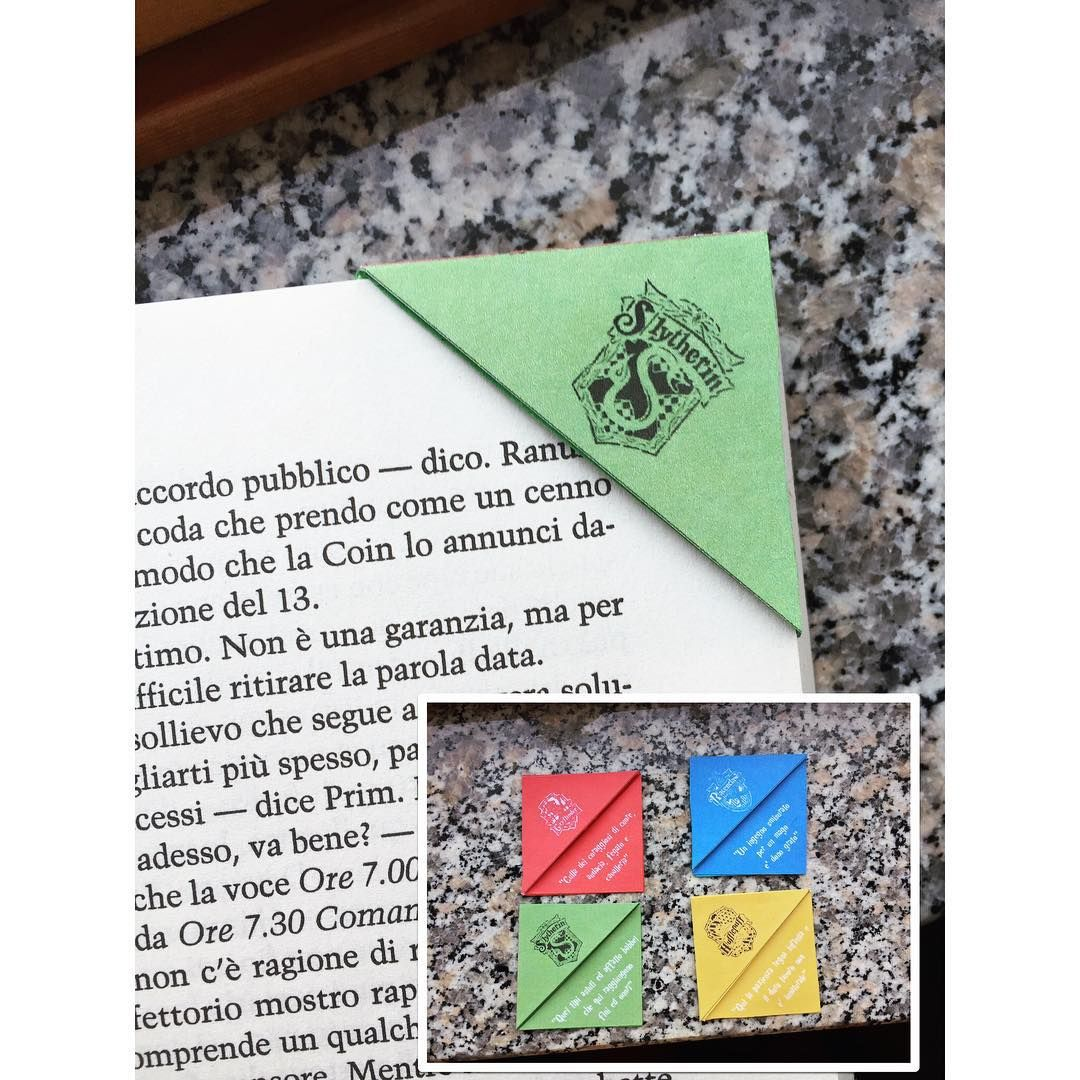 alessio977:  Hogwarts bookmarks  Use these with your ebooks  #Hogwarts #harrypotter #book #books #bookmark #emmawatson #rupertgrint #danielradcliffe #dumbledore #silente #hp #ravenclaw #slytherin #gryffindor #hufflepuff